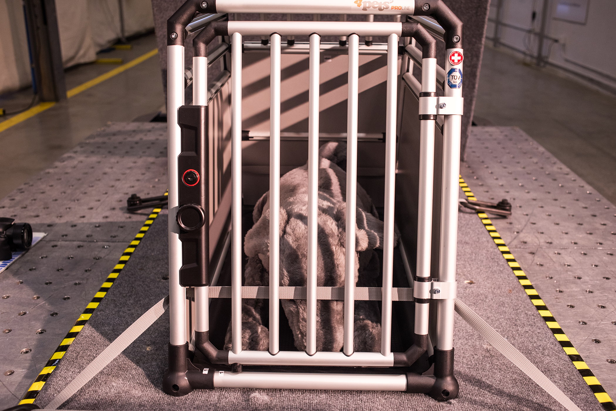 2015 Crate Crashworthiness Study